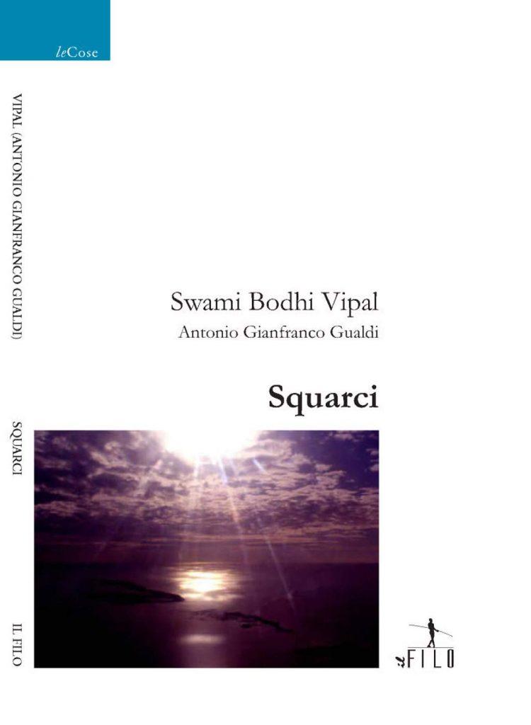 Sole che squarcia le nuvole copertina del libro di poesie di Vipal