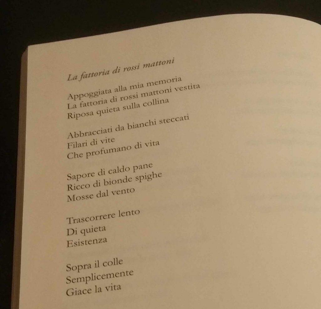 Poesia La fattoria di rossi mattoni tratta da Squarci di Vipal Antonio Gianfranco Gualdi