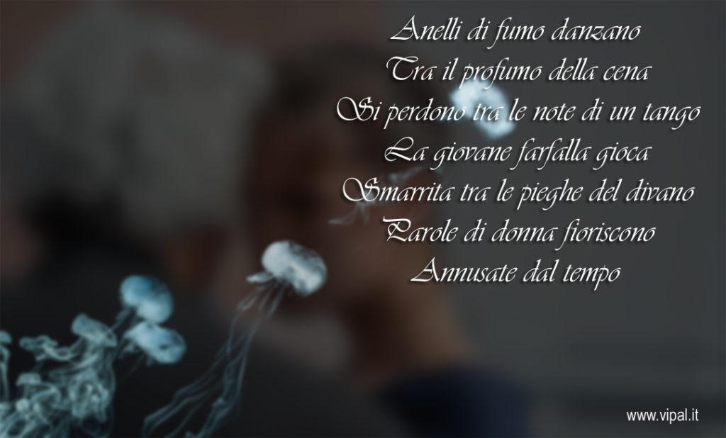 Anelli di fumo poesia edita sul libro Squarci di Vipal Antonio Gianfranco Gualdi