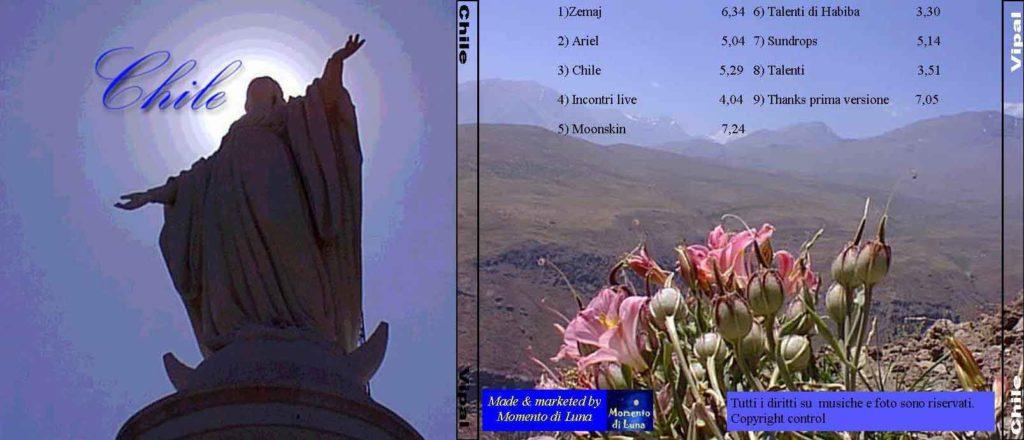 Copertina album Chile anno 1998 Vipal Antonio Gianfranco Gualdi