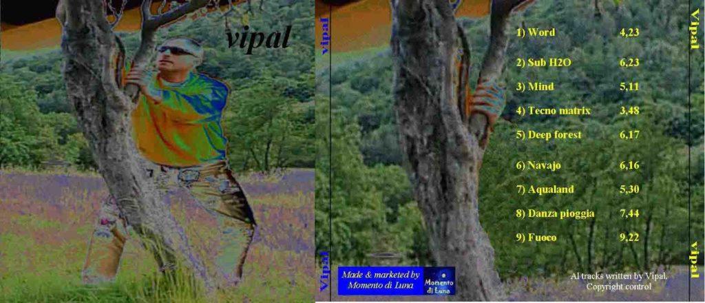 Copertina album Vipal anno 1998 Vipal Antonio Gianfranco Gualdi