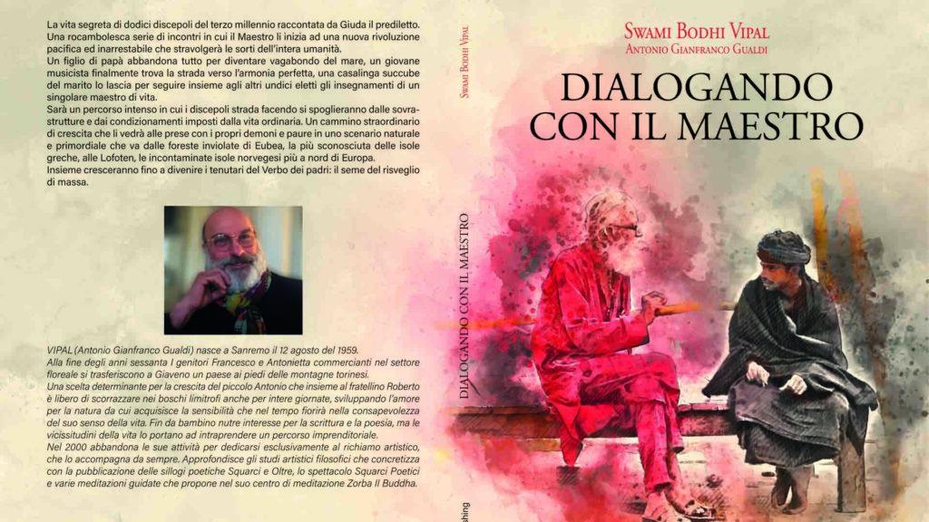 """Copertina Dialogando con il Maestro"""" Vipal Antonio Gianfranco Gualdi"""
